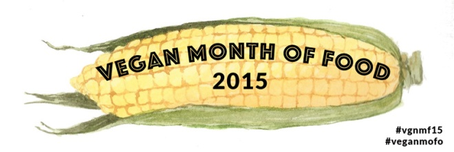Vegan MoFo 2015 has the cutest banner this year!